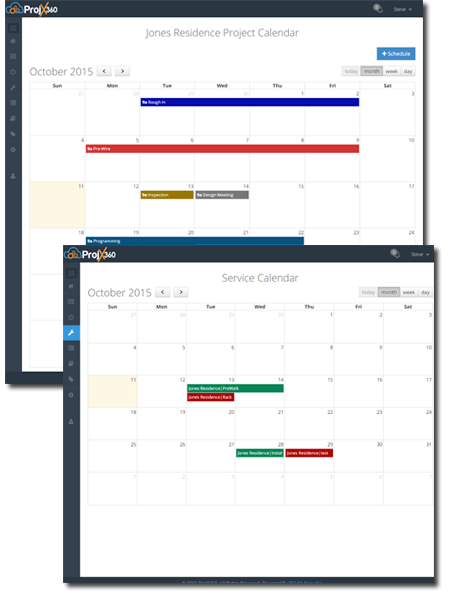 Project Management Scheduling